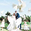 laché de colombes au chateau pape clement a pessac en gironde du côte de bordeaux photo prise par un photographe professionnel pixaile photography