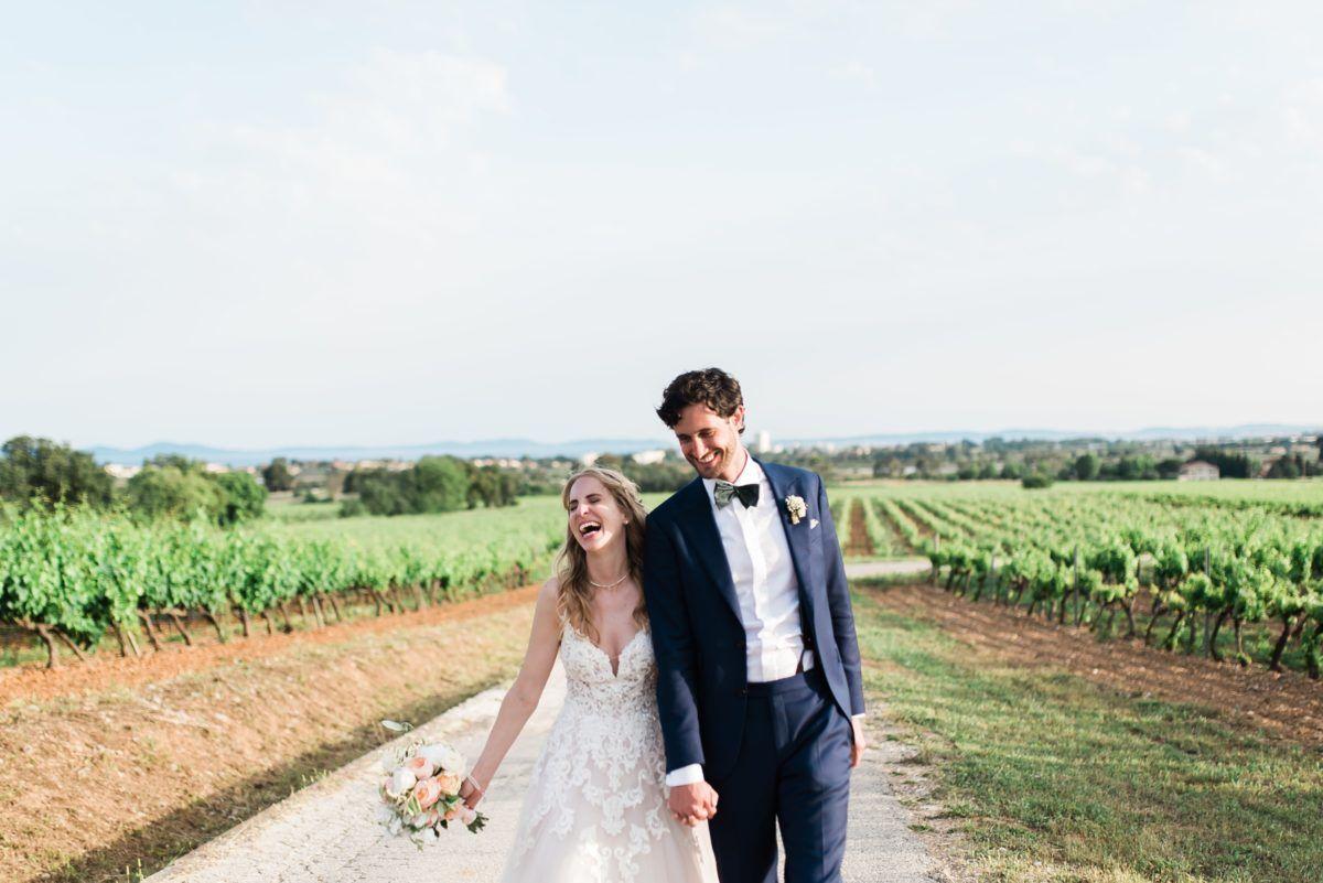 photos de couple mariage au château du galoupet dans le var photos prise par un photographe professionnel julien Boyer