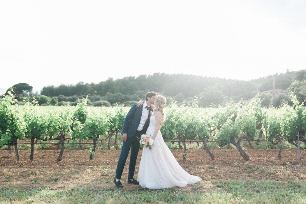 mariage au domaine de Galoupet la londe les maures dans les vignes par un photographe professionnel pixaile photography